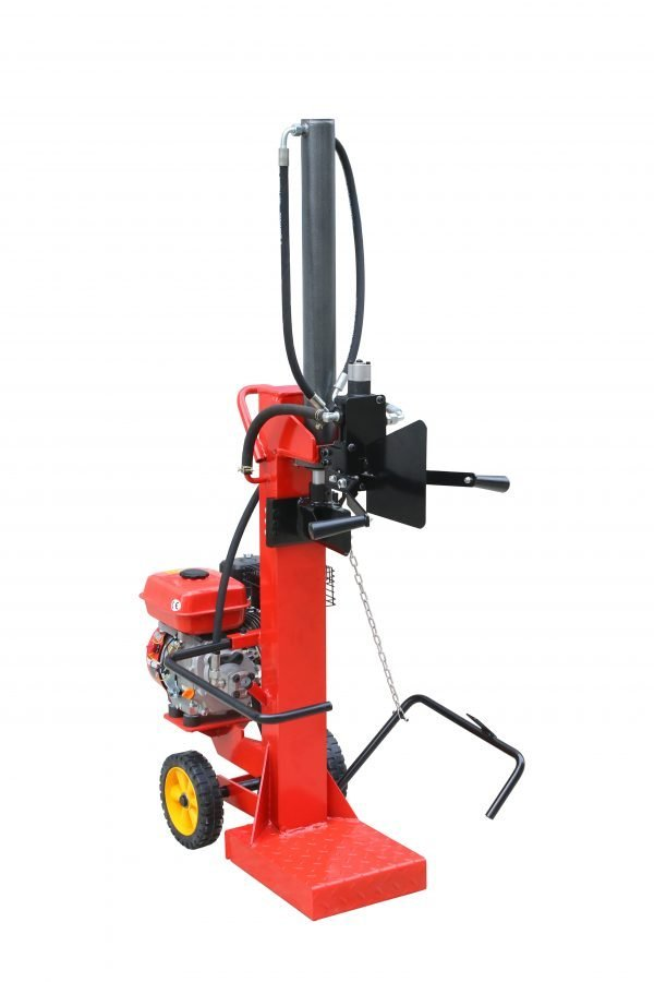 Fellotool 10 ton gasoline engine-powered vertical log splitter